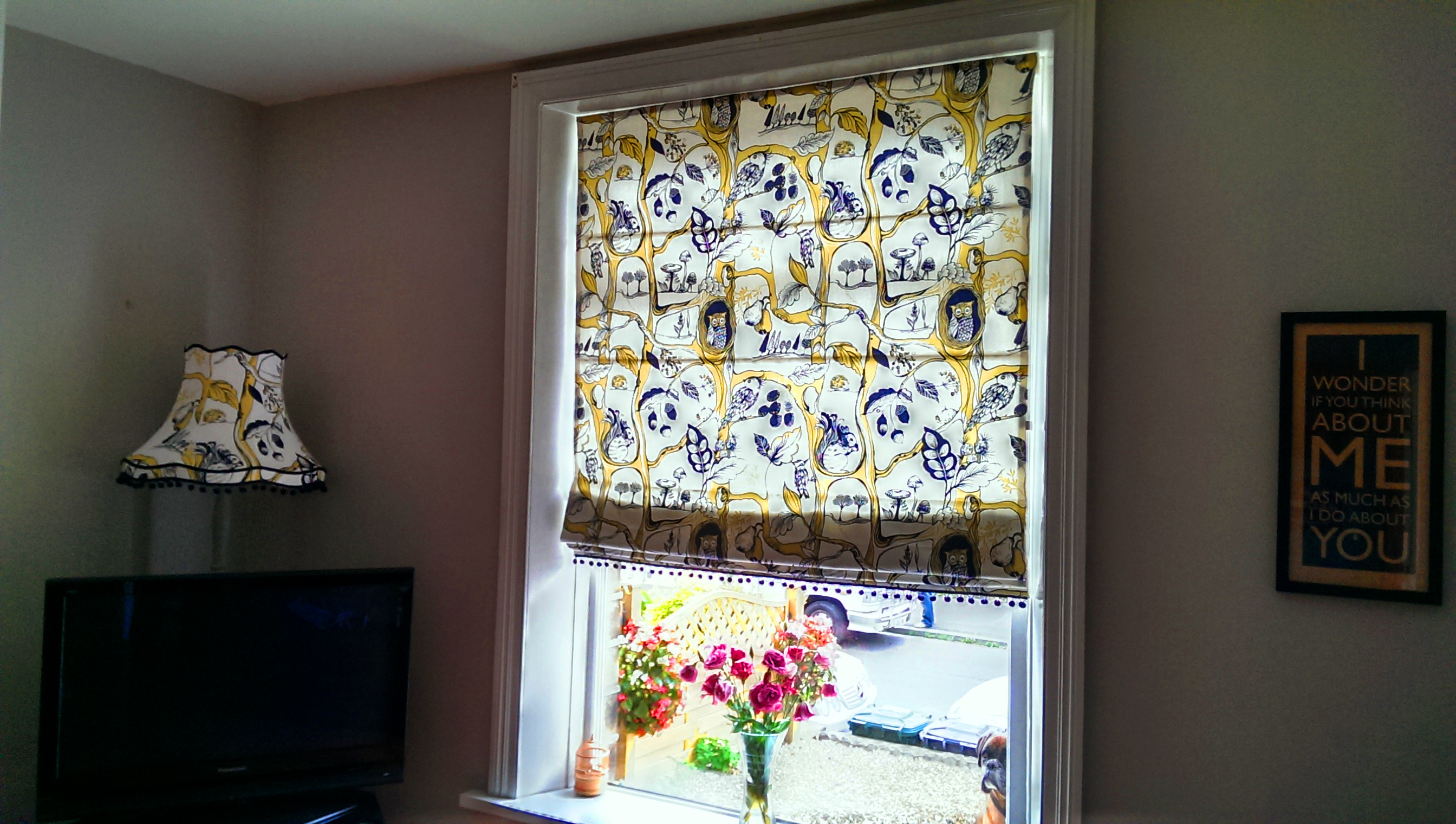 with room electric of size fabric window sheer full wonderful blinds decorations ideas dining