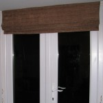 Our largest blind, 6 foot drop across our double door