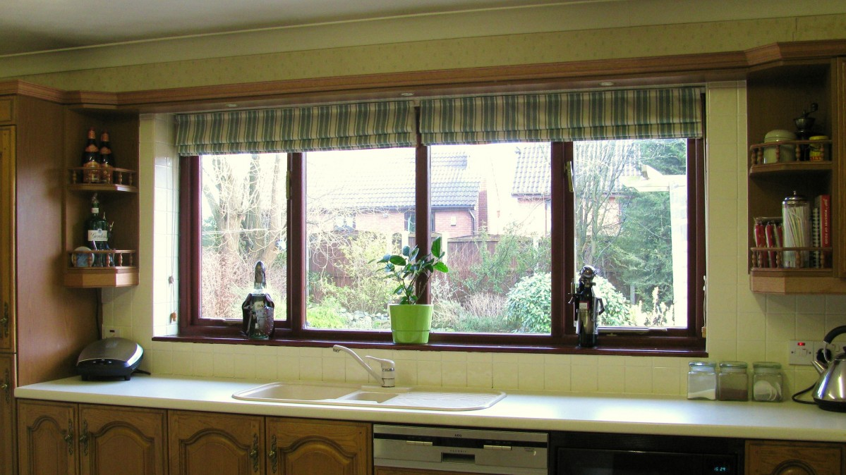 Coppy bridge roman blinds for Roman shades for wide windows